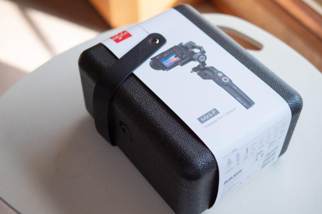 小型ミラーレスカメラに最適なMOZA MINI-P